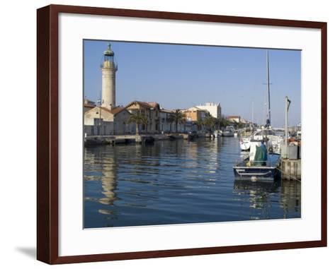 Harbour, Le Grau Du Roi, Languedoc, France, Europe-Ethel Davies-Framed Art Print