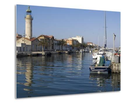 Harbour, Le Grau Du Roi, Languedoc, France, Europe-Ethel Davies-Metal Print