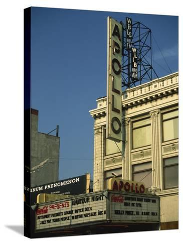 Apollo Theatre, Harlem, New York City, United States of America, North America-Ethel Davies-Stretched Canvas Print