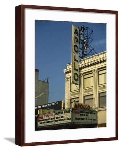 Apollo Theatre, Harlem, New York City, United States of America, North America-Ethel Davies-Framed Art Print