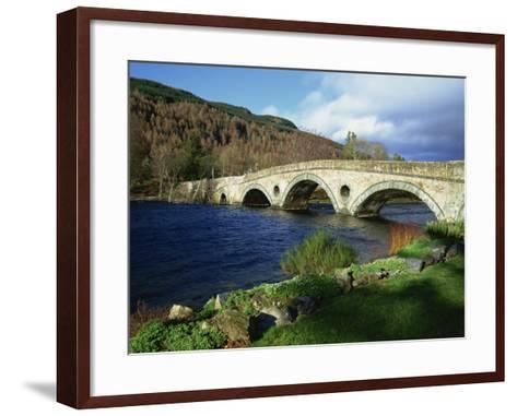 Bridges, Kenmore, Loch Tay, Scotland, United Kingdom, Europe-Ethel Davies-Framed Art Print