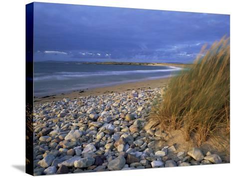 Beach Near Doogort, Achill Island, County Mayo, Connacht, Republic of Ireland, Europe-Patrick Dieudonne-Stretched Canvas Print