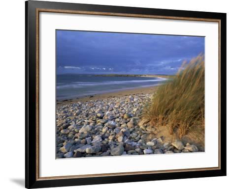 Beach Near Doogort, Achill Island, County Mayo, Connacht, Republic of Ireland, Europe-Patrick Dieudonne-Framed Art Print