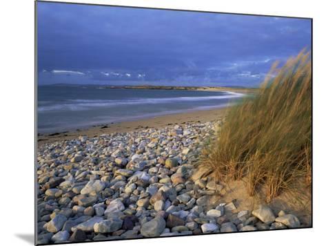 Beach Near Doogort, Achill Island, County Mayo, Connacht, Republic of Ireland, Europe-Patrick Dieudonne-Mounted Photographic Print