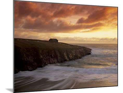 Black House Village, Restored, Garenin, Isle of Lewis, Outer Hebrides, Scotland, UK-Patrick Dieudonne-Mounted Photographic Print