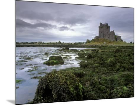Dunguaire Castle and Coast, Near Kinvarra, County Galway, Connacht, Republic of Ireland-Patrick Dieudonne-Mounted Photographic Print