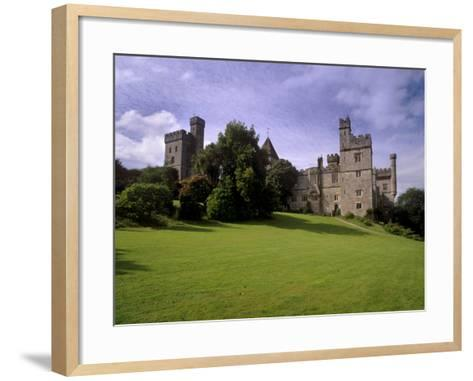 Lismore Castle Dating from 12th Century, Lismore, County Waterford, Munster, Republic of Ireland-Patrick Dieudonne-Framed Art Print