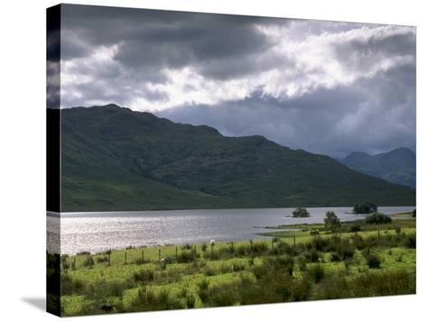 Loch Arklet, Part of Loch Lomond and the Trossachs National Park, Stirlingshire, Scotland, UK-Patrick Dieudonne-Stretched Canvas Print
