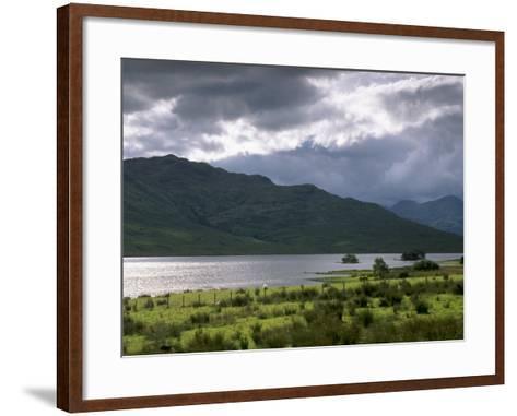 Loch Arklet, Part of Loch Lomond and the Trossachs National Park, Stirlingshire, Scotland, UK-Patrick Dieudonne-Framed Art Print