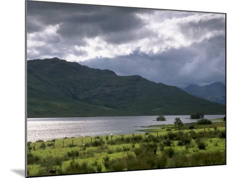 Loch Arklet, Part of Loch Lomond and the Trossachs National Park, Stirlingshire, Scotland, UK-Patrick Dieudonne-Mounted Photographic Print