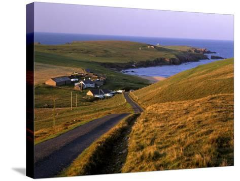 Skaw, Most Northerly House in Great Britain, Unst, Shetland Islands, Scotland, United Kingdom-Patrick Dieudonne-Stretched Canvas Print