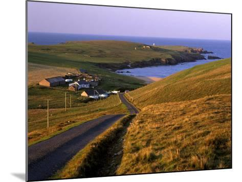 Skaw, Most Northerly House in Great Britain, Unst, Shetland Islands, Scotland, United Kingdom-Patrick Dieudonne-Mounted Photographic Print
