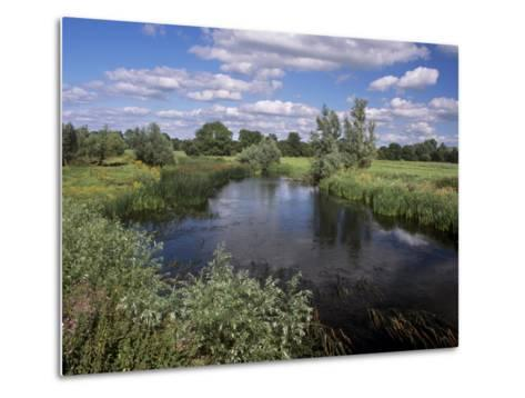 River Suir, Not Far from Cashel, County Tipperary, Munster, Republic of Ireland, Europe-Patrick Dieudonne-Metal Print