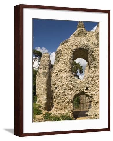 King Johns Castle, Odiham, Hampshire, England, UK-James Emmerson-Framed Art Print