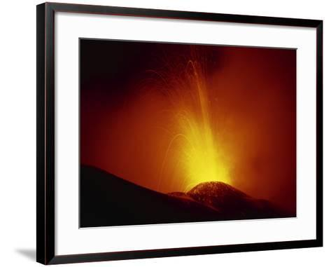 Eruption of Highly Active Volcan Pacaya, South of Guatemala City, Guatemala, Central America-Robert Francis-Framed Art Print
