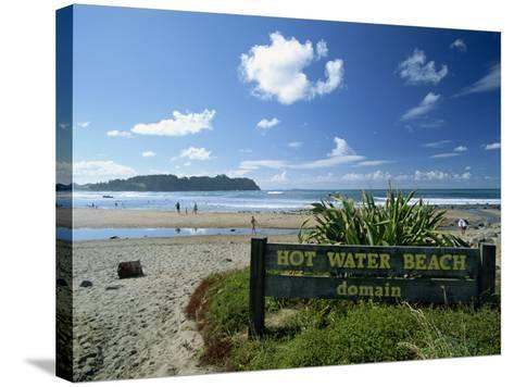 Hot Water Beach on the East Coast of the Coromandel Peninsula, North Island, New Zealand-Robert Francis-Stretched Canvas Print