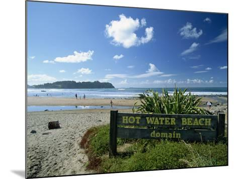 Hot Water Beach on the East Coast of the Coromandel Peninsula, North Island, New Zealand-Robert Francis-Mounted Photographic Print