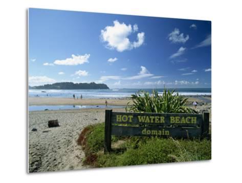 Hot Water Beach on the East Coast of the Coromandel Peninsula, North Island, New Zealand-Robert Francis-Metal Print