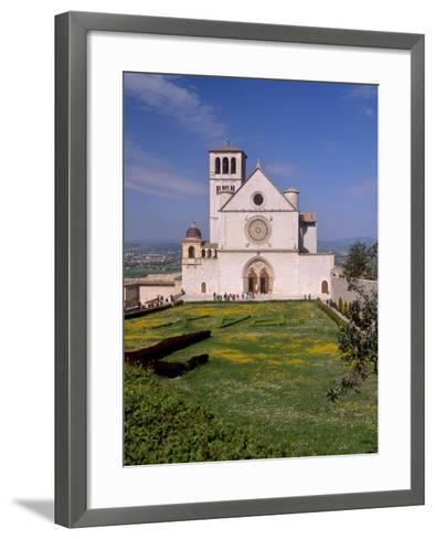 Basilica Di San Francesco Di Assisi, Assisi, Umbria, Italy-Patrick Dieudonne-Framed Art Print