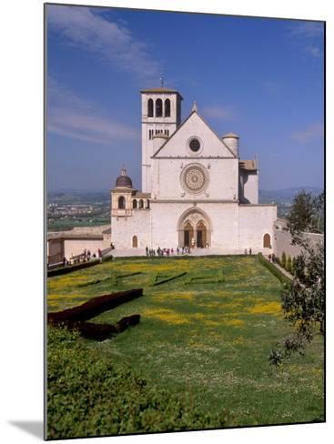 Basilica Di San Francesco Di Assisi, Assisi, Umbria, Italy-Patrick Dieudonne-Mounted Photographic Print