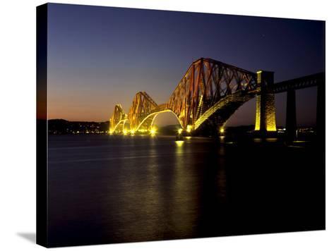 Forth Rail Bridge, Built Between 1883 and 1890, Fife, Scotland-Patrick Dieudonne-Stretched Canvas Print