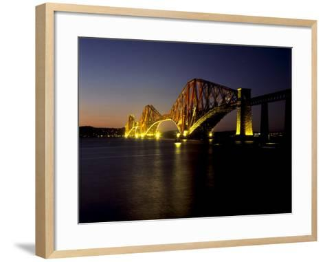 Forth Rail Bridge, Built Between 1883 and 1890, Fife, Scotland-Patrick Dieudonne-Framed Art Print
