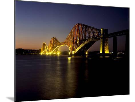 Forth Rail Bridge, Built Between 1883 and 1890, Fife, Scotland-Patrick Dieudonne-Mounted Photographic Print