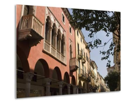 Main Street, Corso Palladio, Vicenza, Veneto, Italy, Europe-James Emmerson-Metal Print