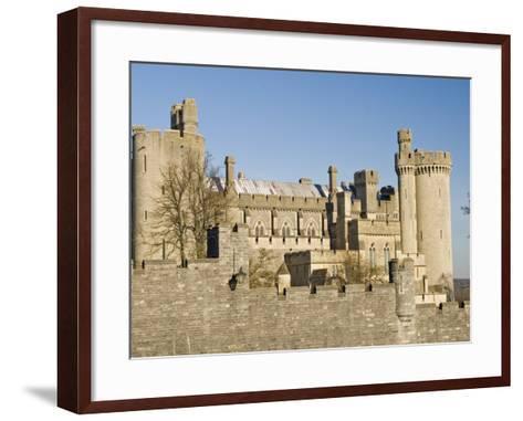 Arundel Castle, Arundel, West Sussex, England, UK-James Emmerson-Framed Art Print