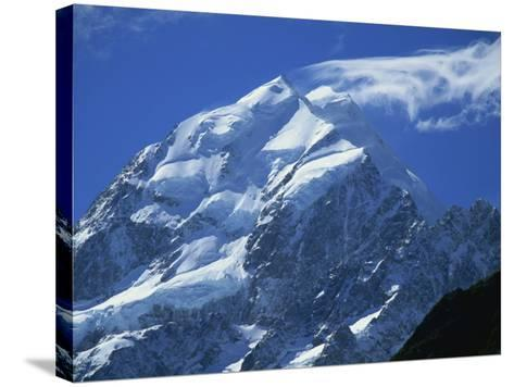 Mount Cook, Mount Cook National Park, Canterbury, South Island, New Zealand-Robert Francis-Stretched Canvas Print