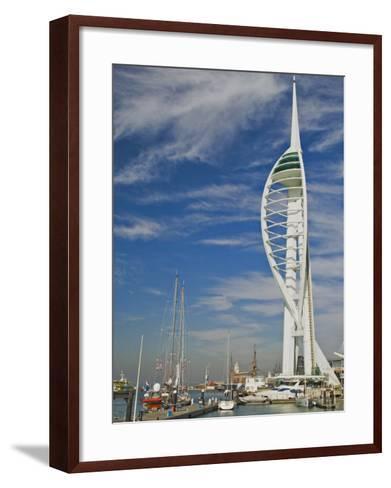 Spinnaker Tower, Waterfront Complex, Portsmouth, Hampshire, England, United Kingdom, Europe-James Emmerson-Framed Art Print