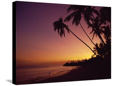 Alona Beach, Island of Panglao, Off the Coast of Bohol, the Philippines, Southeast Asia-Robert Francis-Stretched Canvas Print