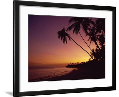 Alona Beach, Island of Panglao, Off the Coast of Bohol, the Philippines, Southeast Asia-Robert Francis-Framed Art Print