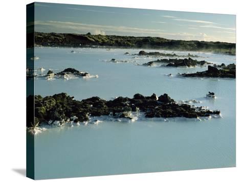 Blue Lagoon, Svartsengi, Iceland, Polar Regions-Robert Francis-Stretched Canvas Print