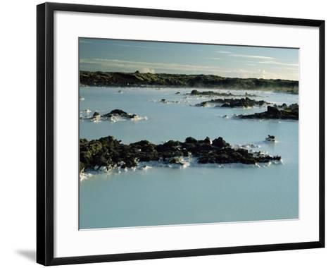 Blue Lagoon, Svartsengi, Iceland, Polar Regions-Robert Francis-Framed Art Print