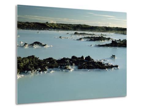 Blue Lagoon, Svartsengi, Iceland, Polar Regions-Robert Francis-Metal Print