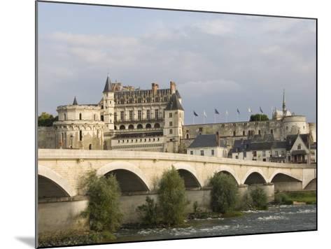 Chateau Royal D'Amboise, Indre-et-Loire, River Loire, France, Europe-James Emmerson-Mounted Photographic Print