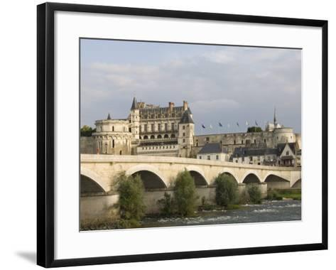 Chateau Royal D'Amboise, Indre-et-Loire, River Loire, France, Europe-James Emmerson-Framed Art Print
