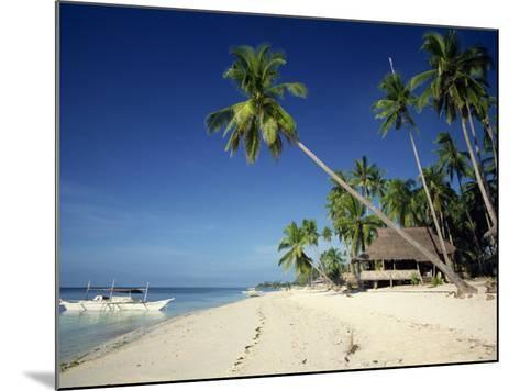 Alona Beach on the Island of Panglao Off the Coast of Bohol, in the Philippines, Southeast Asia-Robert Francis-Mounted Photographic Print