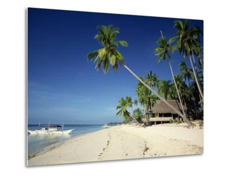 Alona Beach on the Island of Panglao Off the Coast of Bohol, in the Philippines, Southeast Asia-Robert Francis-Metal Print