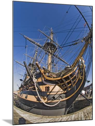 Hms Victory, Portsmouth Historical Dockyard, Portsmouth, Hampshire, England, UK-James Emmerson-Mounted Photographic Print