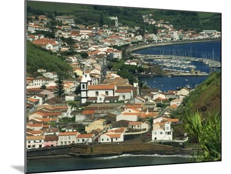 View from Monte De Guia of Horta, Faial, Azores, Portugal, Atlantic, Europe-Ken Gillham-Mounted Photographic Print