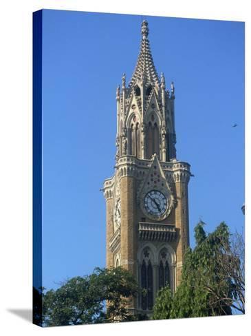 University Clock Tower, Mumbai, India-Ken Gillham-Stretched Canvas Print