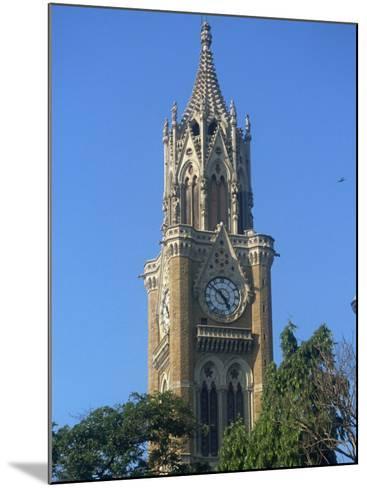 University Clock Tower, Mumbai, India-Ken Gillham-Mounted Photographic Print