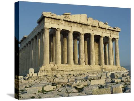 Parthenon, the Acropolis, UNESCO World Heritage Site, Athens, Greece, Europe-James Green-Stretched Canvas Print