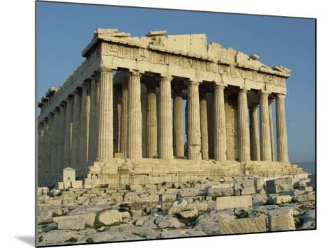 Parthenon, the Acropolis, UNESCO World Heritage Site, Athens, Greece, Europe-James Green-Mounted Photographic Print