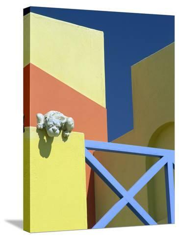 Detail of Modern Architecture, Swakopmund, Namibia, Africa-Lee Frost-Stretched Canvas Print