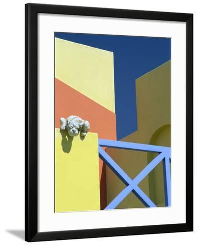 Detail of Modern Architecture, Swakopmund, Namibia, Africa-Lee Frost-Framed Art Print