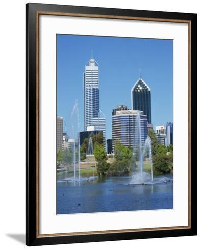 Perth, Western Australia, Australia, Pacific-Ken Gillham-Framed Art Print