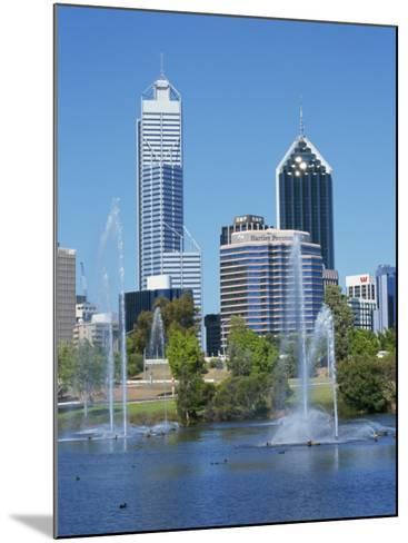 Perth, Western Australia, Australia, Pacific-Ken Gillham-Mounted Photographic Print